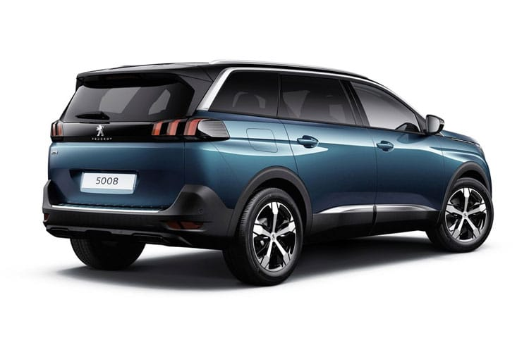 Peugeot 5008 SUV 1.5 BlueHDi 130PS Allure Premium 5Dr EAT8 [Start Stop] back view