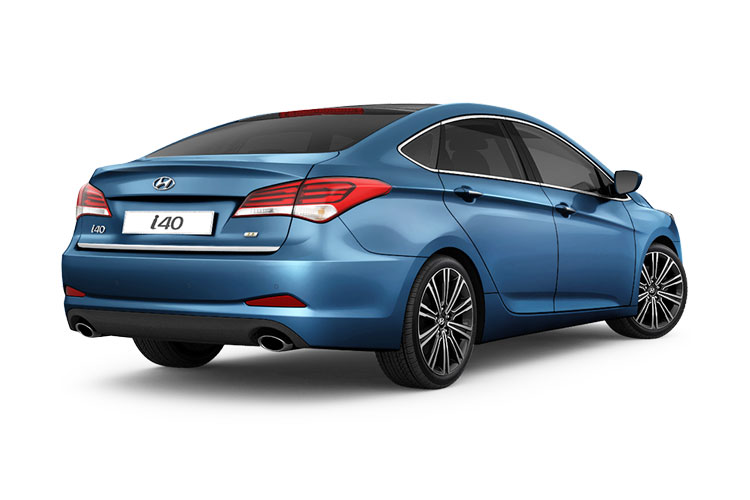 Hyundai i40 Saloon 1.7 CRDi Blue Drive 115PS S 4Dr Manual [Start Stop] back view