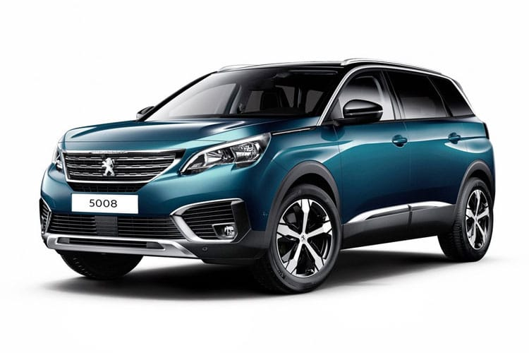Peugeot 5008 SUV 1.5 BlueHDi 130PS Allure Premium 5Dr EAT8 [Start Stop] front view