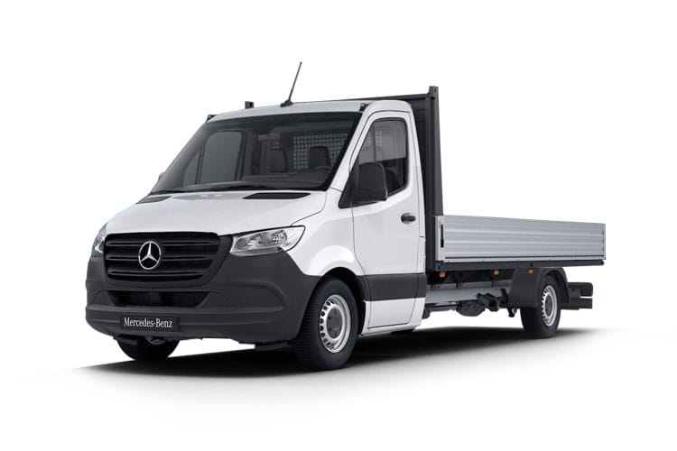 Mercedes-Benz Sprinter HGV 516 L2 5.0t 2.1 CDi DRW 163PS  Dropside G-Tronic+ [Start Stop] front view