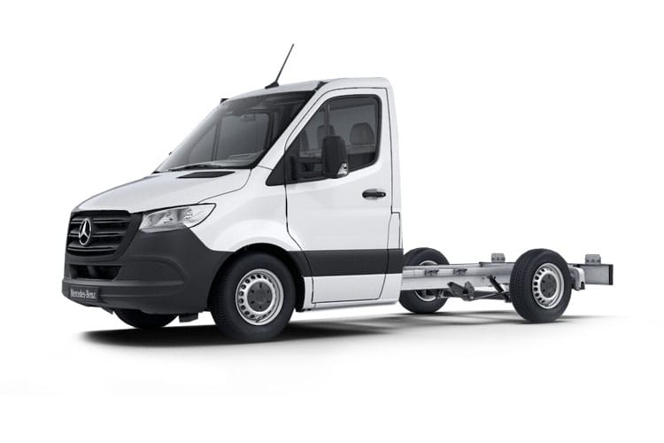 Mercedes-Benz Sprinter 316 L2 3.5t 2.1 CDi RWD 163PS  Chassis Double Cab Manual front view