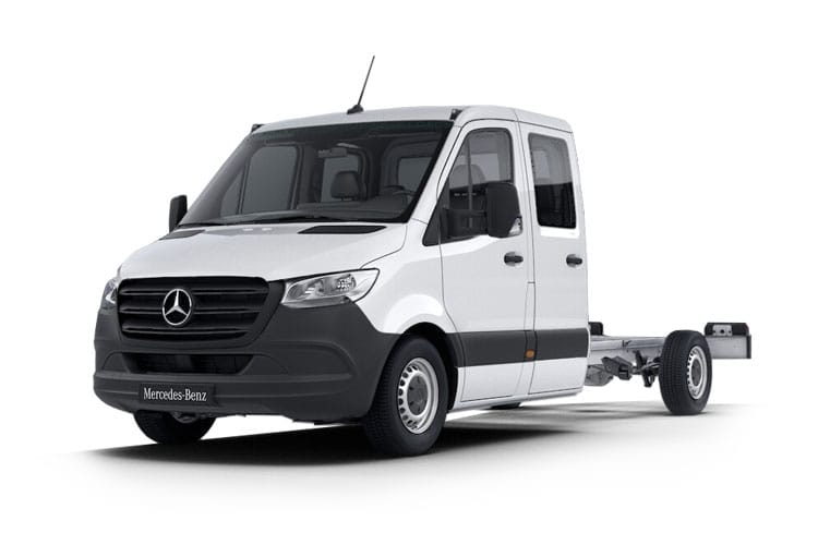 Mercedes-Benz Sprinter HGV 516 L2 5.0t 2.1 CDi DRW 163PS  Chassis Double Cab G-Tronic+ [Start Stop] front view