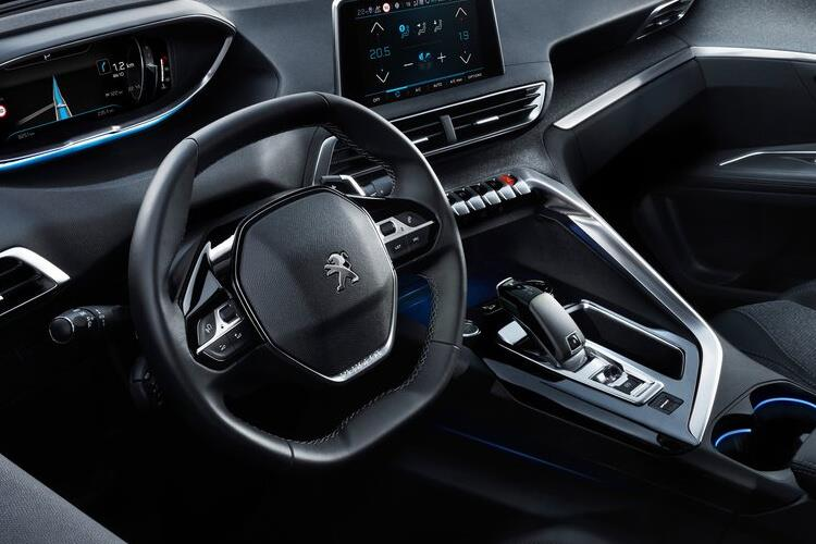Peugeot 3008 SUV HYBRID 1.6 PHEV 13.2kWh 225PS Allure 5Dr e-EAT [Start Stop] inside view