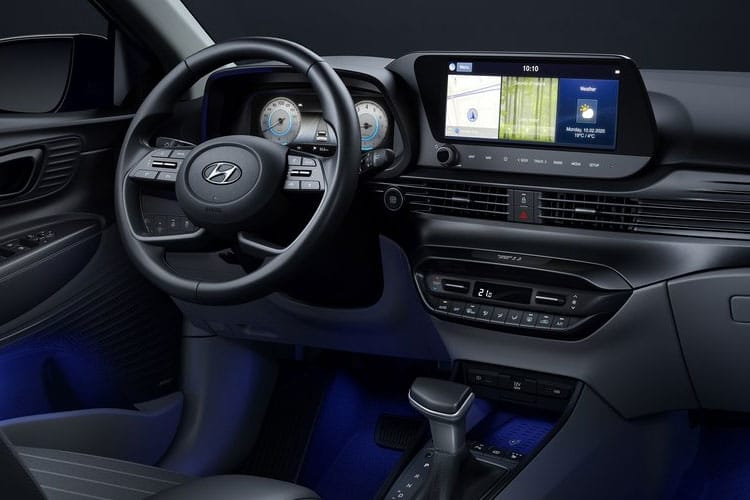 Hyundai i20 Hatch 5Dr 1.2  84PS SE 5Dr Manual inside view