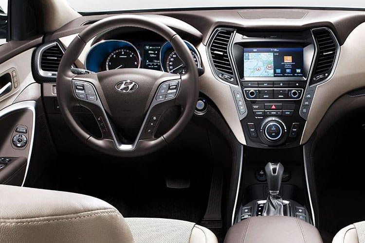 Hyundai Santa Fe SUV 4WD 1.6 T-GDi PiH 13.8kWh 265PS Ultimate 5Dr Auto [Start Stop] [7 Seat] inside view