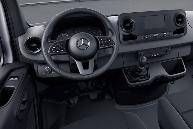 Mercedes-Benz Sprinter 316 L2 3.5t 2.1 CDi RWD 163PS  Chassis Double Cab Manual inside view